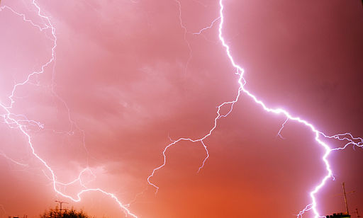 Nakkeprolaps symptomer kan blant annet framstå som elektrisk stråling - Foto Wikimedia Commons