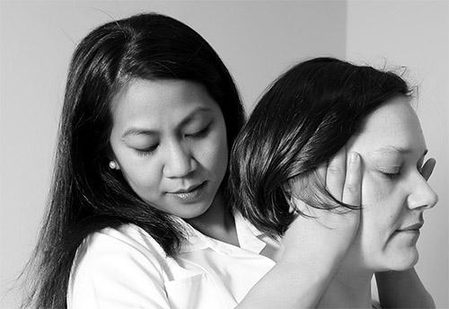 Traksjonsbehandling av nakkeprolaps - Foto Wiki